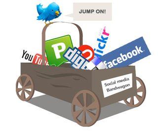 Social media banwagon