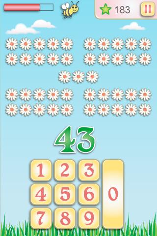 Mathgirl number garden- Fun Educationals Apps