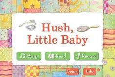 Hush little baby book apps