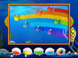 Kandy Fish 3D picture Book App