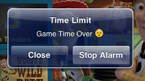 Game Time Limit for Parents - Screen