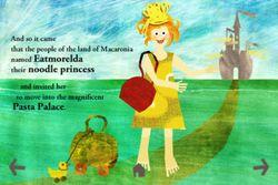 The Noodle Princess - Kids Book Apps