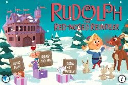 Rudolph the Red nosed Reindeer - Xmas book apps