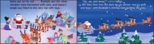 Rudolph the red nosed reindeer - Chirstmas book apps