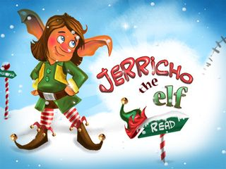 Jerricho the Elf - Xmas book apps for kids