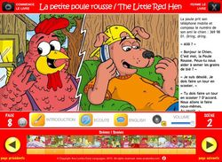 Ana Lomba - The Little Red Hen Multilingual storybook apps
