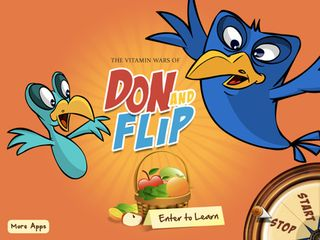 Don and Flip - Top Educational Storybook apps for kids
