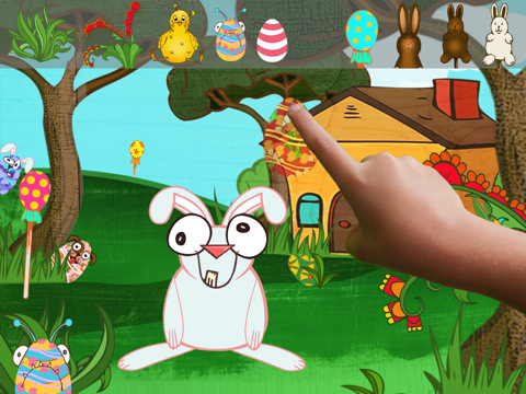 ClickySticky Easter - Creative App for kids