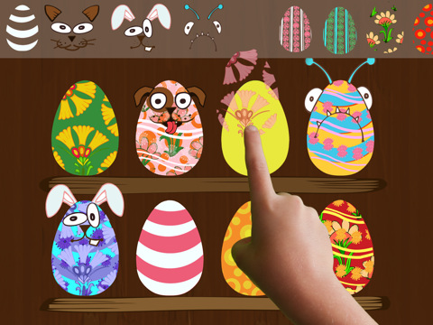 ClickySticky Easter - Eater fun App for kids