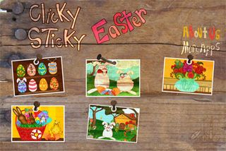 ClickySticky Easter - Fun Easter app for kdis