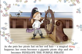 Penelope The Purple Pirate -greatl book app for kids