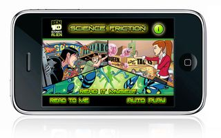 Ben 10 - Storybook apps for kids -iPhone iPad iPod Touch