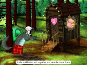 The Three Little Pigs - Best adaptation for iPad