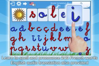 French Words for Kids- learning french app