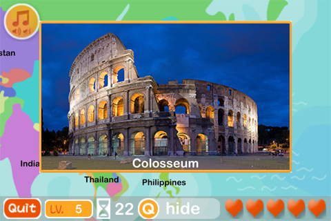 World Academy Top Educational World Geography Quiz Game App Fun - World geography quiz game