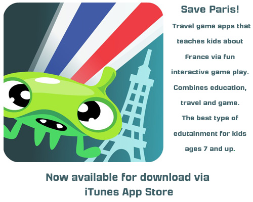 GoKids Apps- Save Paris - Game app for Kids