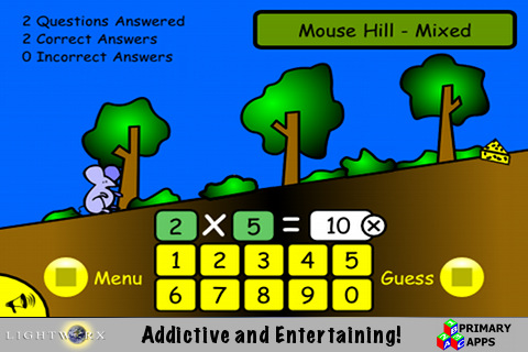 Monty's Quest - Fun math apps for kids