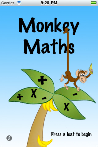 Monkey Math - Fun math apps for kids