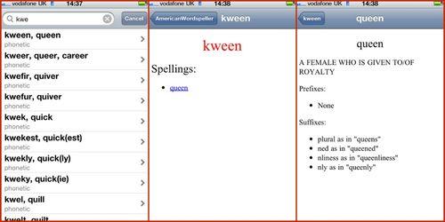 American Wordspeller - Phonetic Dictionary app