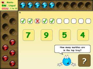Monte Lingual - fun Educational math app preschoolers