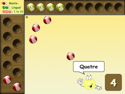 Monte Lingual - Math counting apps for toddlers and preschoolers