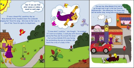 Melody Kitty - Interactive storybook apps for kids