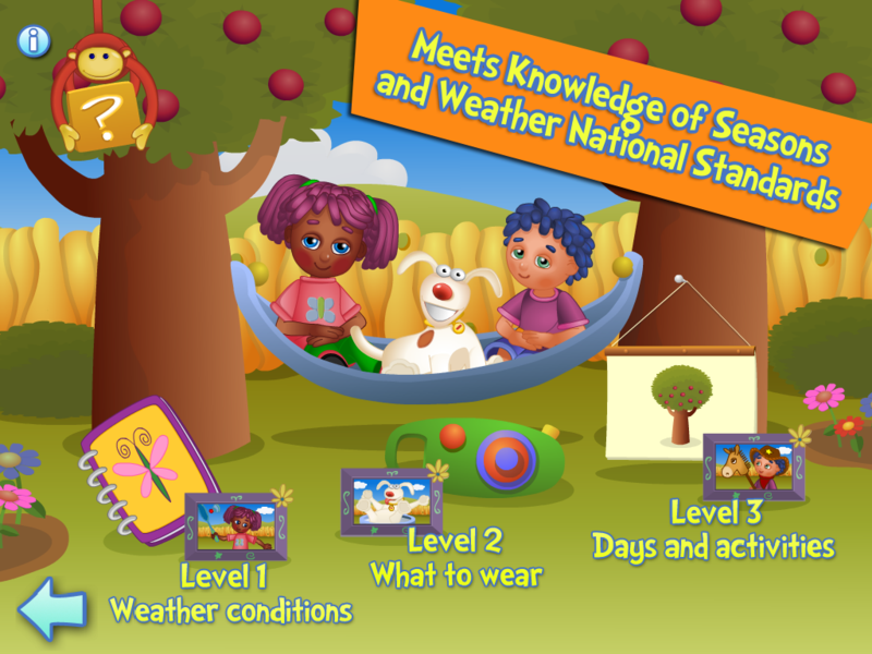 ILearn with Poko Seasons 3 levels