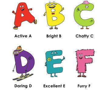 Letter Buddies- ABC Apps for children