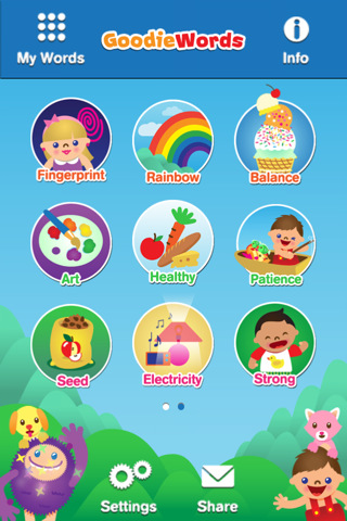 GoodieWords - Fun Educational apps for toddlers