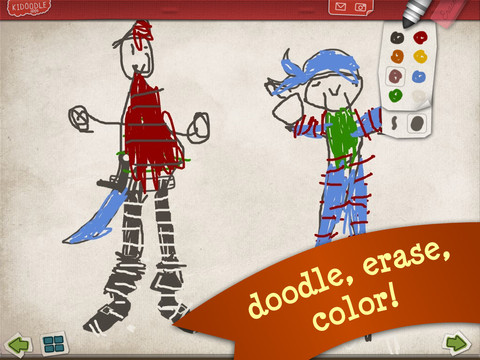 Kidoodle Pirate Scribblebeard's Treasure with Oscar & JosephineBy Kidoodle Apps2