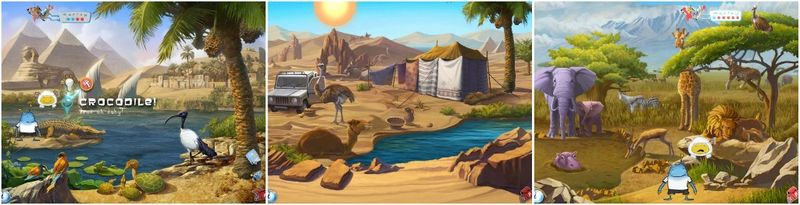 Ansel and Clair Adventure in Africa -iPad Game apps