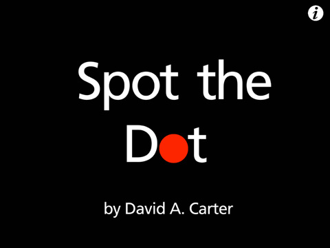 Spot the Dot - Apps for Toddlers and Preschoolers