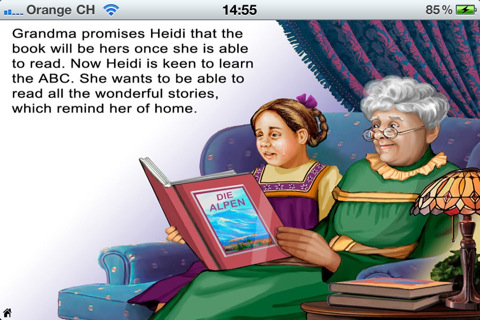 Heidi Part II -Top Books apps for kids