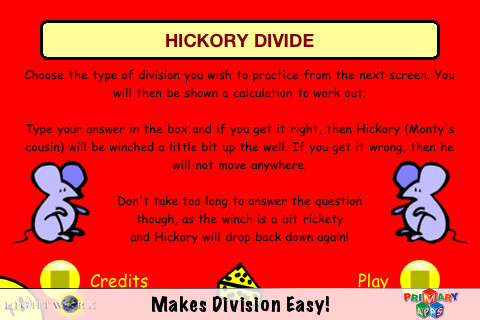 Hickory Divide By Primary Apps