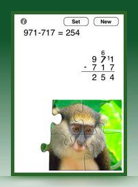Column Subtraction - Math apps iDevbooks