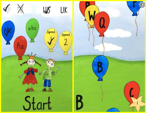 ABC Ballons - Fun learning app for toddlers