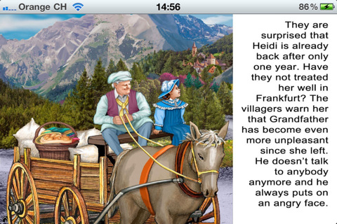 Heidi PArt II- Classic Book apps