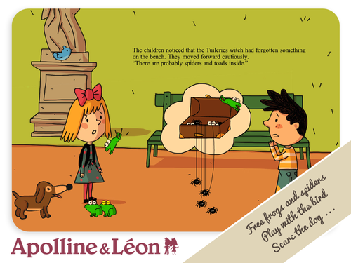 Apolline and leon -storybook apps