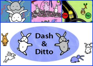 Dash and Ditto Playground - To fun educational game apps