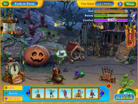 Fishdom Halloween Splash HD2