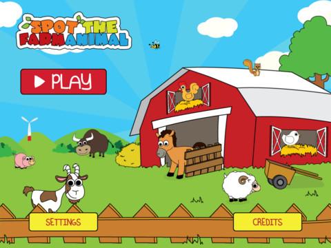 Spot the Farm Animal 1