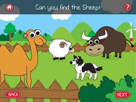 Spot the Farm Animal 2