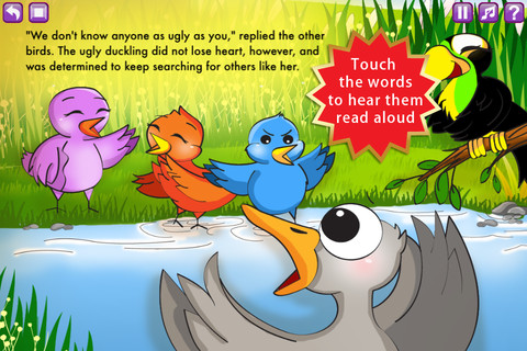 The Ugly Duckling Storybook HD 2