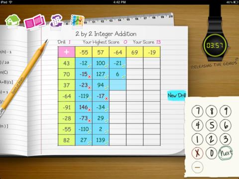 Spirit of Math Drills 2
