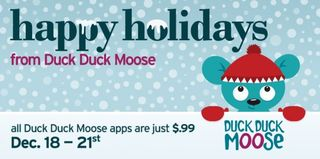 Happy Holidays Duck Duck Moos