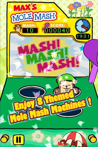 Max & Ruby - Max's Mole Mash