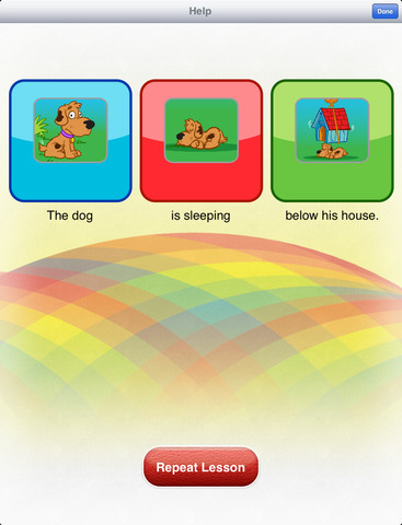 Rainbow Sentences  4