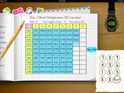 Spirit of Math Drills 3