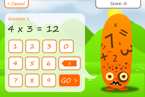 Times Tables Squeebles Multiplication 2
