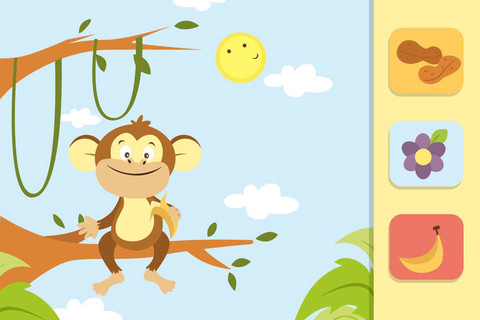 feed the animals kids educational app - Animal Pictures For Toddlers